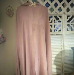 Jackets & Blazers - Beautiful silk like cape